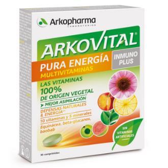 ARKOVITAL pura energia inmunoplus 30comp.