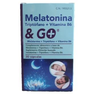 MELATONINA + TRIPTOFANO + VIT. B6 30cap.