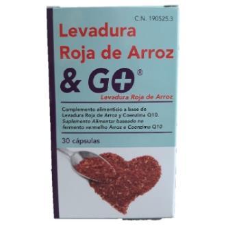 LEVADURA ROJA DE ARROZ 30cap.