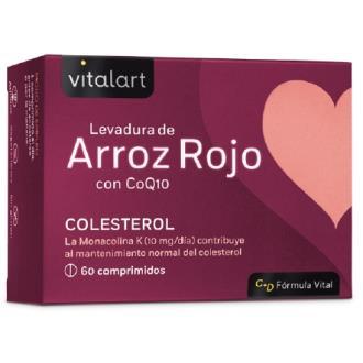 VITALART LEVADURA DE ARROZ ROJO con Q10 60comp.