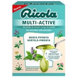 RICOLA MULTI-ACTIVE menta piperita 50gr.