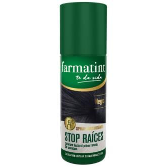 FARMATINT STOP RAICES negro 75ml.