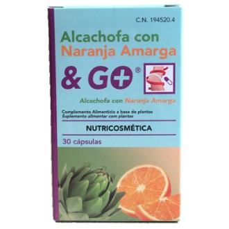 ALCACHOFA con naranja amarga 30cap.
