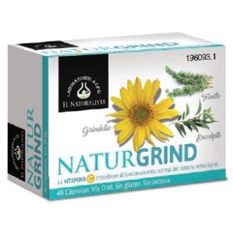 NATURGRIND mezcla de plantas + vit. C 48cap.