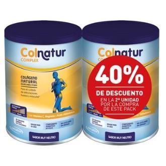 PACK DUPLO COLNATUR COMPLEX neutro 2x330gr.