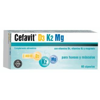 CEFAVIT D3-K2-MG 60cap.