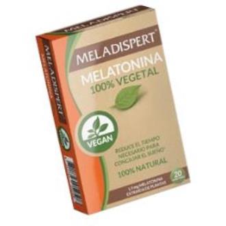 MELADISPERT melatonina vegetal 20comp.