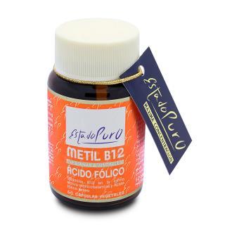 METIL B12 acido folico 60cap. ESTADO PURO