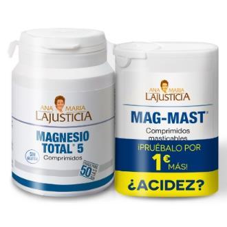 PACK ANTIACIDO magnesio total + mag-mast**