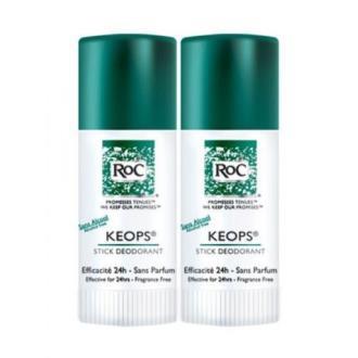 KEOPS desodorante stick 40ml. DUPLO
