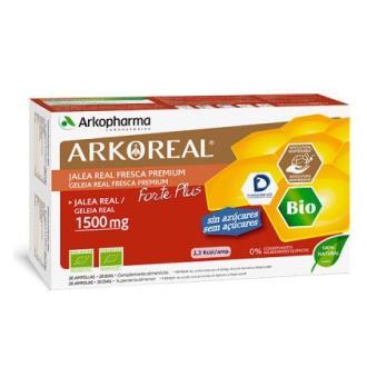 ARKOREAL jalea real 1500mg 20amp. S/A
