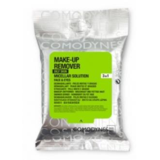 MAKE-UP REMOVER micelar piel grasa 20toallitas