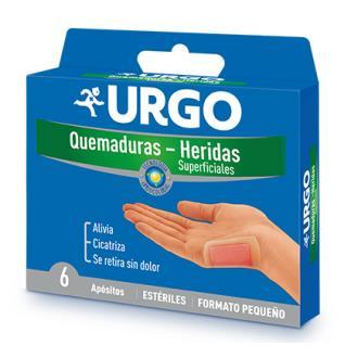 URGO QUEMADURAS 5x7cm 6 apositos