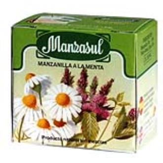 MANZASUL manzanilla infusion 10bolsitas.