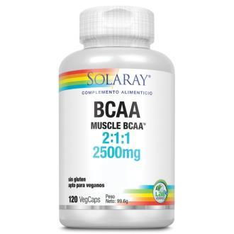 BCAA 2500mg. 120cap.