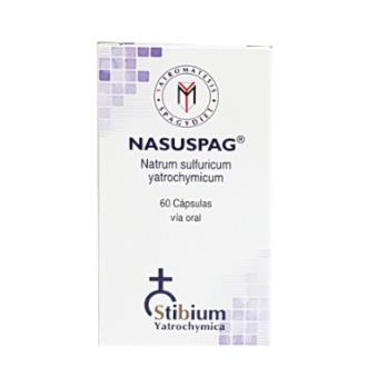 NASUSPAG natrum sulfuricum 60cap.