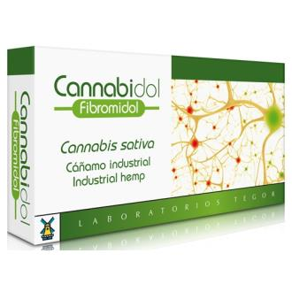 CANNABIDOL FIBROMIDOL (sin CBD) 40cap.