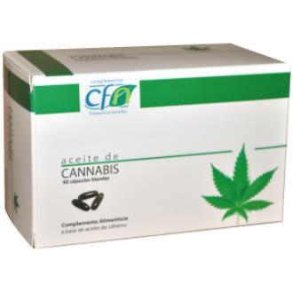 ACEITE DE CANNABIS 1000mg. 60cap.blandas