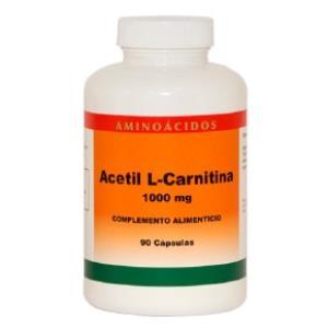 ACETIL L-CARNITINA 1000mg. 90cap.