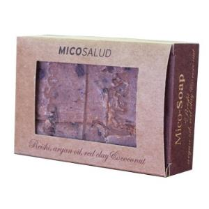 MICO-SOAP reishi-arcilla roja-argan-coco 150gr.