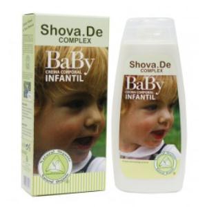 BABY SHOVA DE crema infantil aloe 250ml.