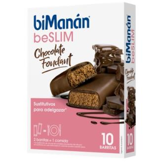 BARRITAS CHOCOLATE FONDANT 10ud.