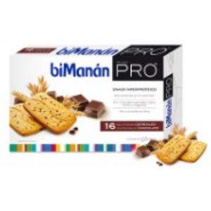 BMN PRO GALLETAS cereal con pepitas chocolate 16ud