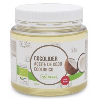 COCOLIDER aceite de coco ECO 500ml.