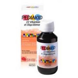PEDIAKID 22 vitaminas-oligoelementos jarabe 125ml.