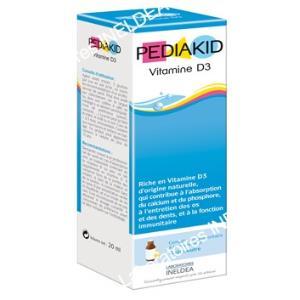 PEDIAKID vitamina D3 20ml.