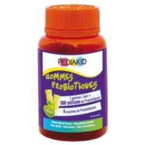 PEDIAKID GOMINOLAS probioticos 60gominolas