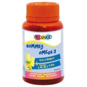 PEDIAKID GOMINOLAS omega 3 60gominolas