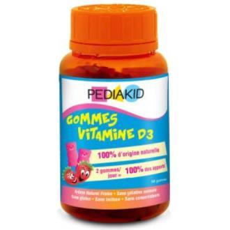 PEDIAKID GOMINOLAS vitamina D3 60gominolas