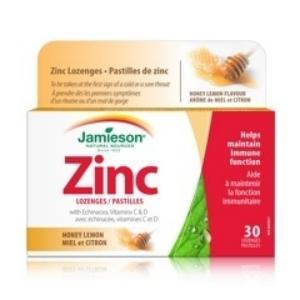 ZINC LOZENGES con ECHINACEA y VIT.C y D 30comp.