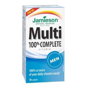 MULTI 100% COMPLETE MEN multivitaminas 90comp.