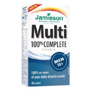 MULTI 100% COMPLETE MEN 50+ 90comp.