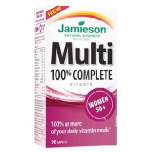 MULTI 100% COMPLETE WOMEN 50+ 90comp.