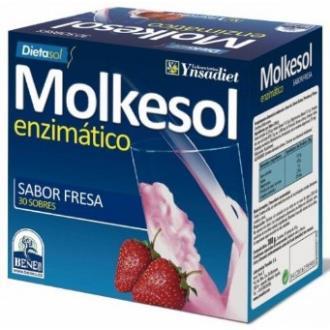 MOLKESOL enzimatico fresa 30sbrs.