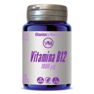 VITAMINA B12 1000µg 60cap.