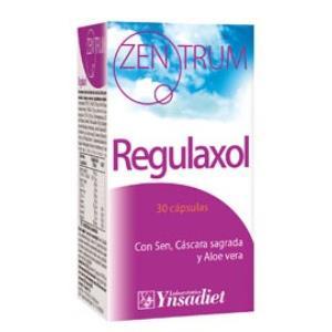 ZENTRUM regulaxol laxante 30cap.