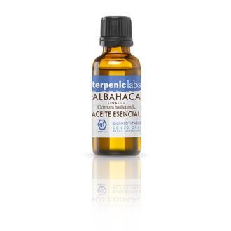 ALBAHACA LINALOL aceite esencial 30ml.