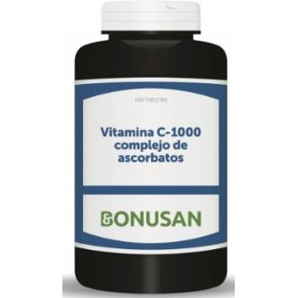 VITAMINA C 1000 complejo de ascorbatos 30comp.