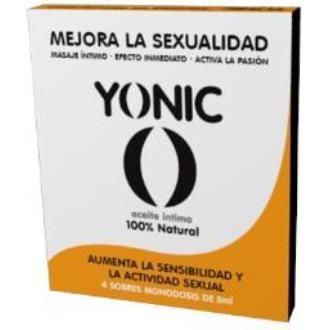 YONIC aceite intimo para mujer 4sbrs. monodosis