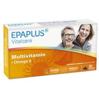 EPAPLUS multivitamin omega 6 30perlas