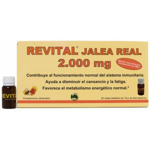 REVITAL jalea real 2000mg. 20amp.
