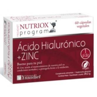 ACIDO HIALURONICO + ZINC 60cap.