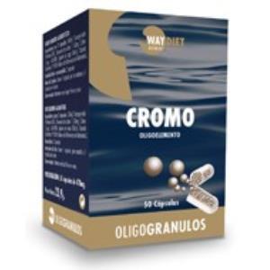 CROMO oligogranulos 50caps.