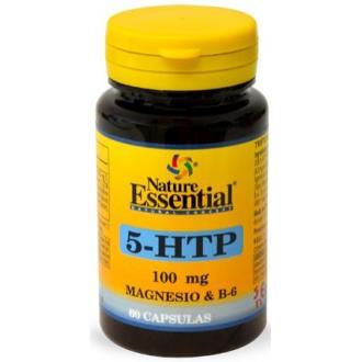 TRIPTOFANO 5-HTP 100mg.+MAGNESIO+VIT. B6 60comp.