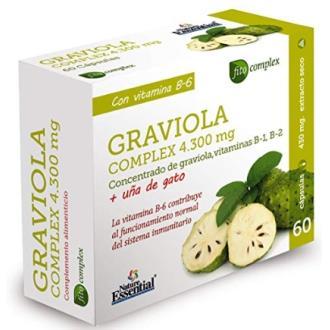 GRAVIOLA COMPLEX 4300mg. 60cap.