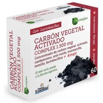 CARBON VEGETAL ACTIVO complex 60cap.
